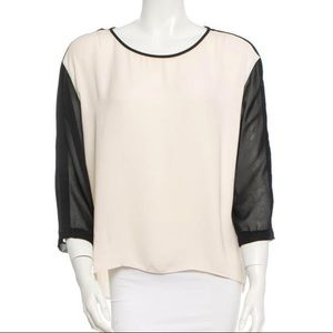 EUC rag & bone two-tone blouse